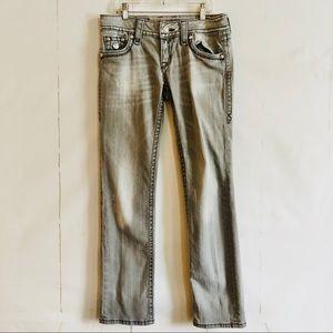 Rock Revival Celine Gray Denim Jeans